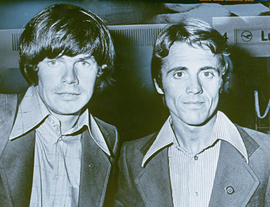Reinhold Messner i Peter Habeler w latach 70. (fot. fotogalerien.alpin.de)