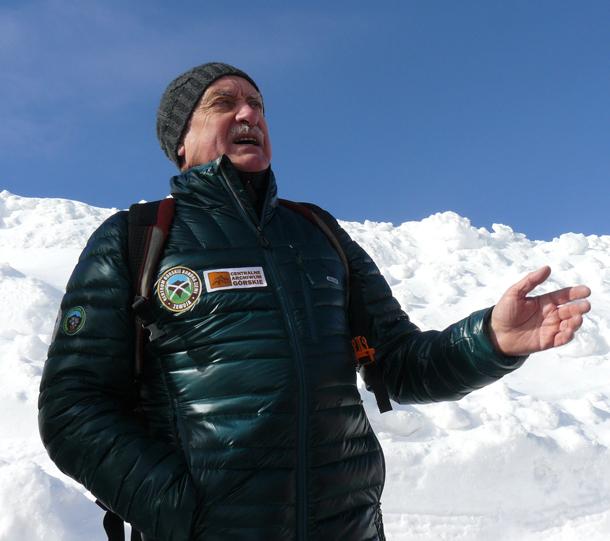 Krzysztof Wielicki na Akademii Górskiej (fot. Outdoor Magazyn)