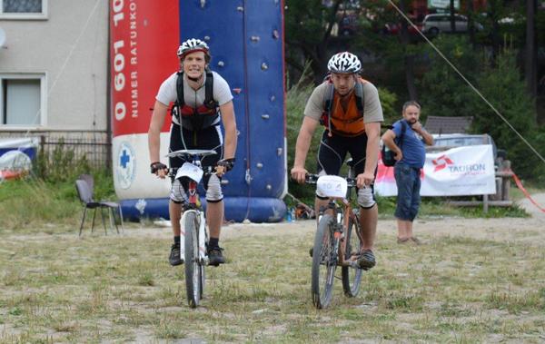 Mountain Touch Challenge 2012 - zwycięzcy na mecie