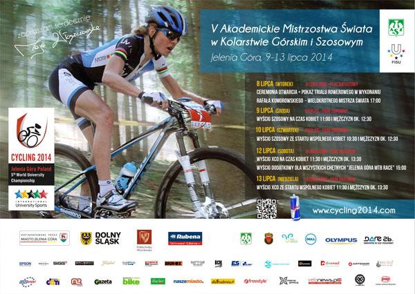 Akademickie-Mistrzostwa-Świata-w-kolarstwie-2014---plakat