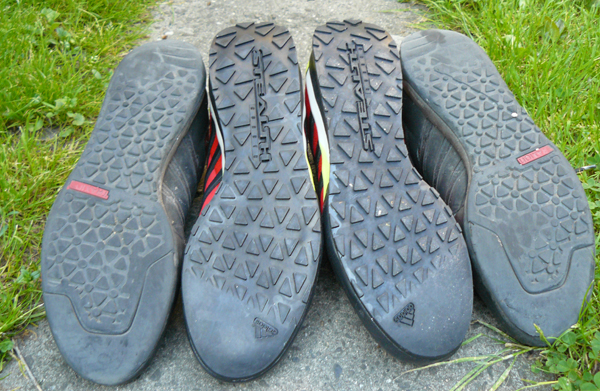 adidas Terrex Solo - nowa wersja vs stara wersja butów  (fot. Outdoor Magazyn)