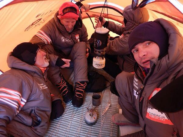 Uczestnicy wprawy na K2 (fot. PHZ)