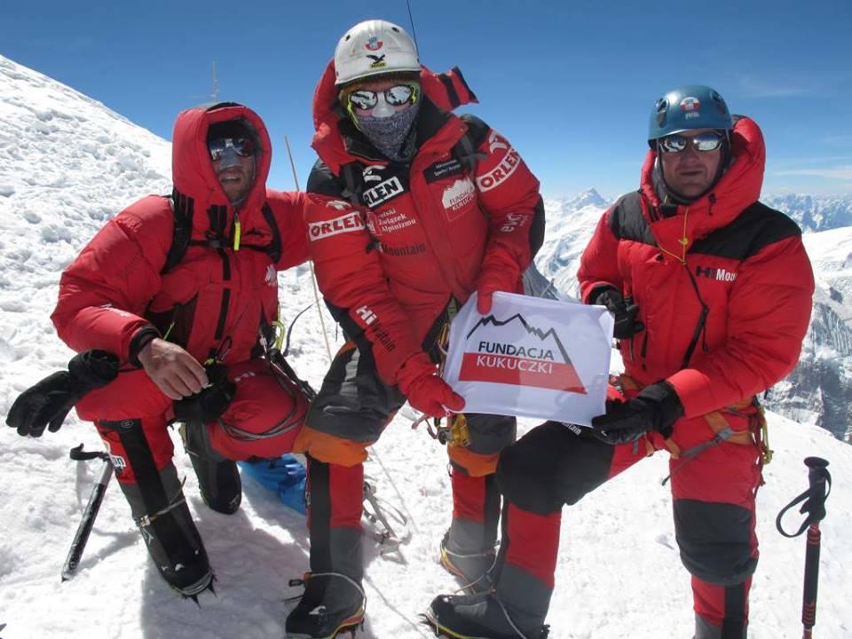 Pierwszy sukces wyprawy Polskiego Himalaizmu Zimowego - dotarcie na szczyt Broad Peak (fot. PHZ)