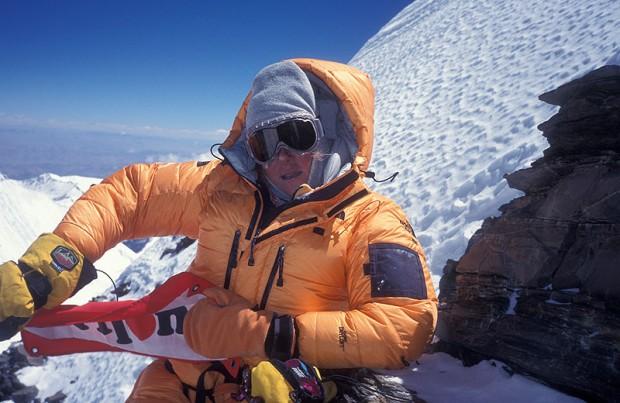 Edurne Pasaban na szczycie Lhotse, 2003 rok