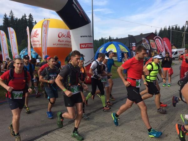 Dynafit Run Adventure - start,