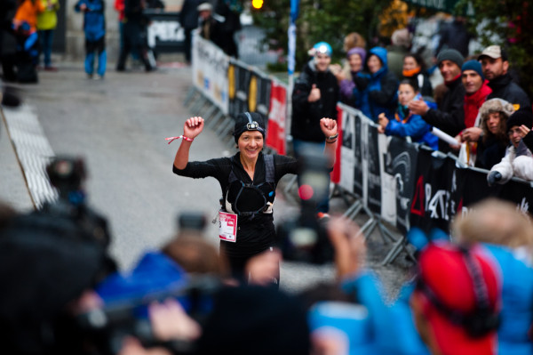 Magdalena Ostrowska-Dołęgowska podczas The North Face Ultra Trail du Mont Blanc 2012 (fot. The North Face/Alo Belluscio)