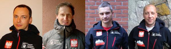 Uczestnicy wyprawy na K2: Marcin Kaczka, Janusz Gołąb, Artur Małek i Paweł Michalski (fot. PHZ)