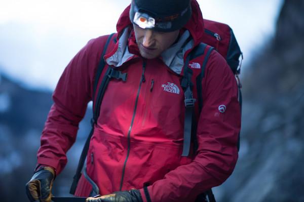 Cory Richards w kurtce Fuse Uno (fot. The North Face/ Keith Ladzinski)