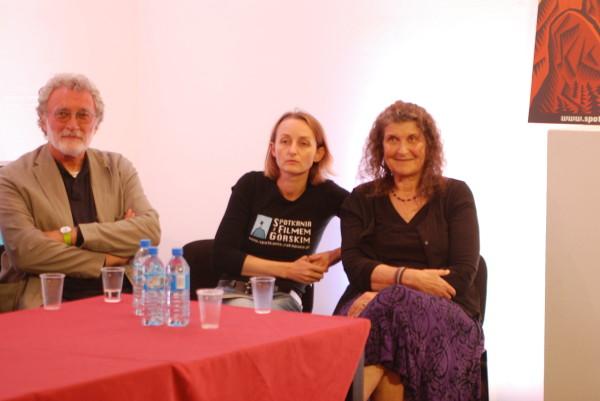 Augusto Golin, Gabriela Kuhn oraz Arlene Blum (fot. Outdoor Magazyn)
