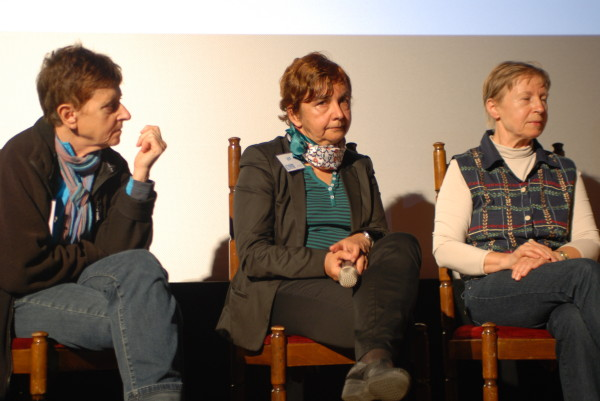 Anna Czerwińska, Anna Okopińska i Krystyna Palmowska (fot. Outdoor Magazyn)
