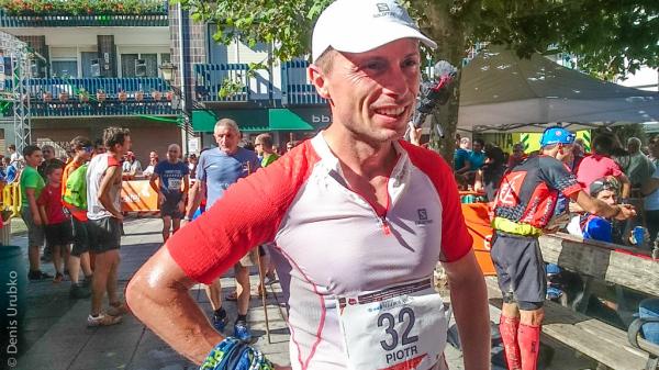 Piotr Hercog na zawodach Gorbeia Suzien (fot. Maciek Sokołowski)