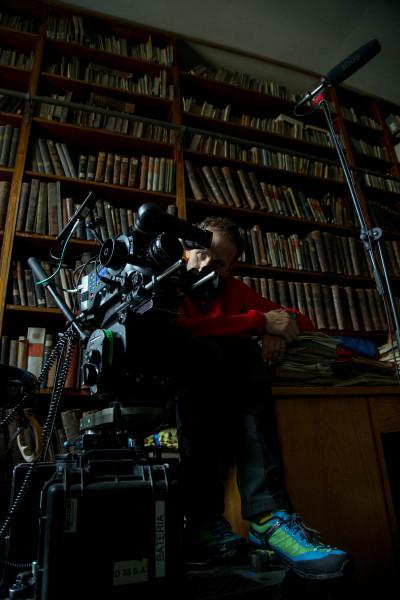 """Na planie filmu """"Szczęście świata"""" (fot. Aleksandra Anna Zimny/Argomedia)"""