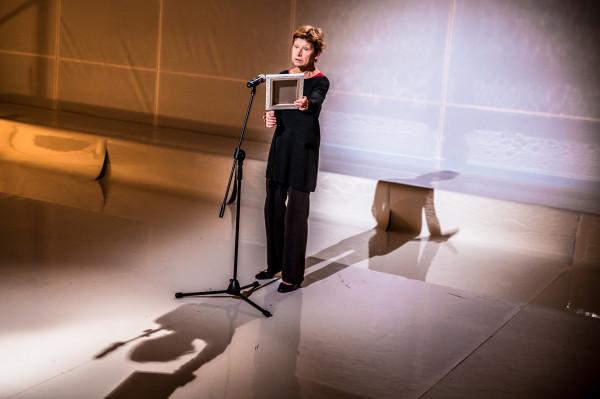 Jadwiga Jankowska-Cieślak w roli Wandy (fot. Katarzyna Chmura)
