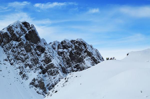 Int. Jugendcamp 2014 Lienz _ Gemeinsame Skitour 2 _ Bild Willi Seebacher...