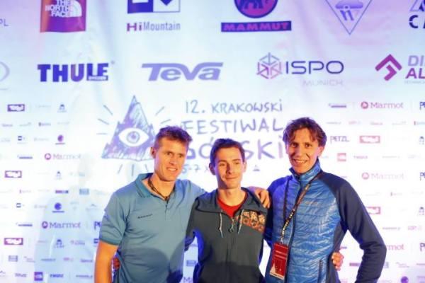 Od lewej: Stephan Siegrist, Adam Pustelnik i Piotr Turkot (fot. Wojciech Lembryk)