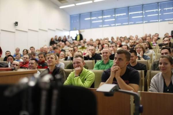 Pilni uczniowie 12. KFG (fot. Wojciech Lembryk)