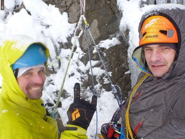 Na mokrym stanowisku tylko PrimaLoft - tu Blue Magic w Alpach (fot. arcg. Artur Małek)