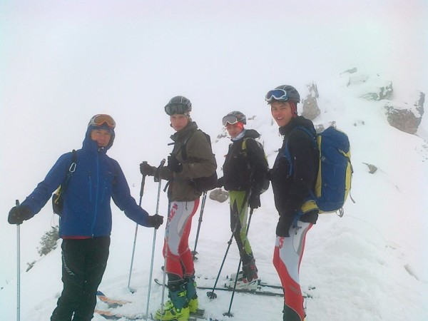 Grupa Młodzieżowa PZA w Narciarstwie Wysokogórskim (fot. arch. Komisja Narciarstwa Wysokogórskiego PZA)