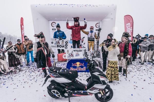 Red Bull Bieg Zbójników - podium panów (fot. Bartosz Woliński)
