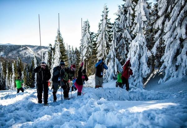 Szkolenie lawinowe (fot. Wintercamp)