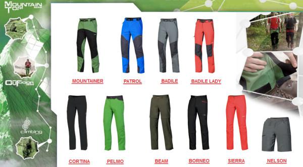 Seria Outoor Active - spodnie