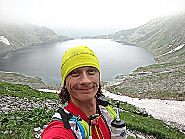 Grzegorz Leszek w trakcie bicia rekordu (fot. arch. Grzegorz Leszek)