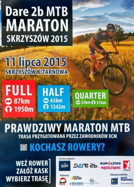 Dare2b_MTB_Maraton_Skrzyszow_plakat