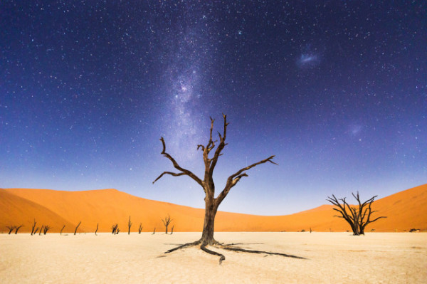 Beth McCarley / National Geographic Traveler Photo Contest, A Night at Deadvlei