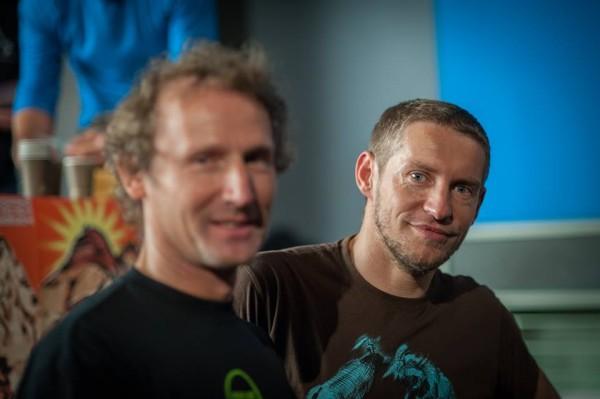 Janusz Gołąb i Wojtek Grzesiok (fot. Spotkania z Filmem Górskim)