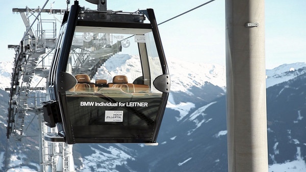 BMW VIP Gondola (fot. Zillertal.at)