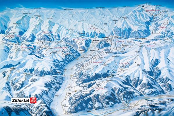 Ośrodki narciarskie Zillertal