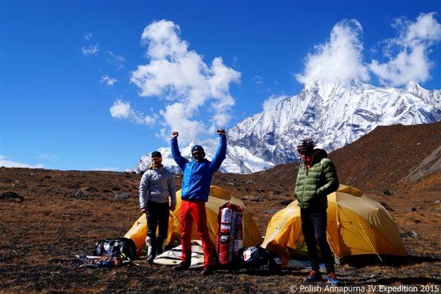 Zespół Polish Annapurna IV Expedition 2015