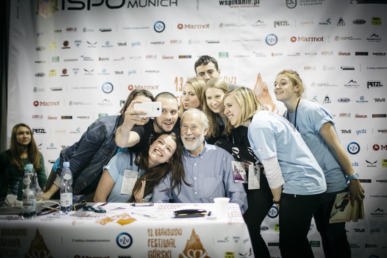 Selfie z Sir Boningtonem (fot. Adam Kokot/KFG)