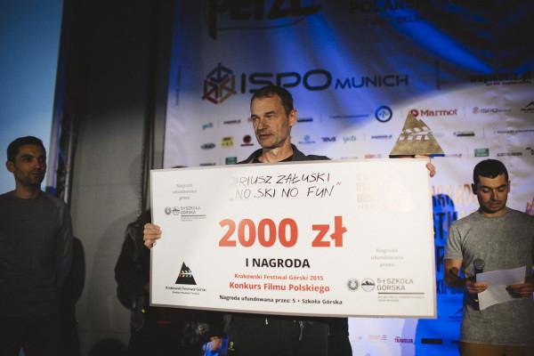 Dariusz Załuski zwyciężył w Konkursie Filmu Polskiego (fot. Adam Kokot/KFG)