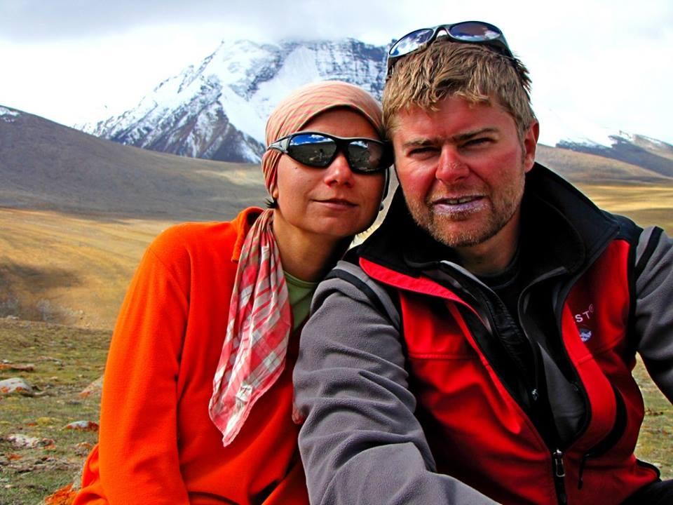 Na trasie Wielkiego Szlaku Himalajskiego (fot. Joanna Lipowczan i Bartosz Malinowski)