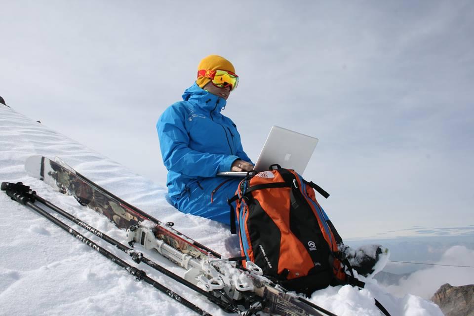 My office is where I am ;) (fot. Snow PR)