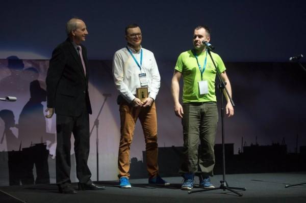 Leszek Cichy, Bogusław Kowalski i Maciej Janczar (fot. Kolosy)
