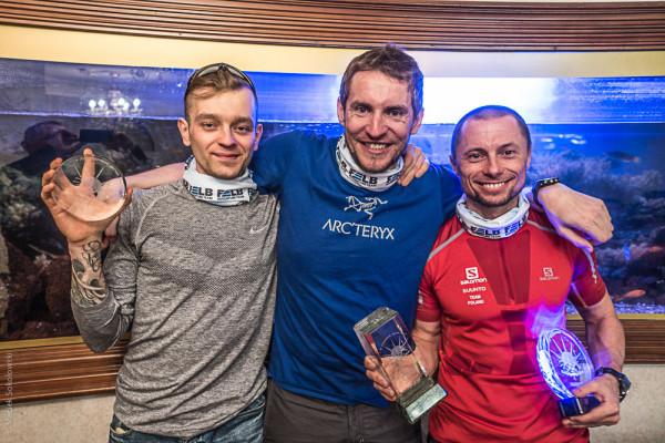 Łukasz Zdanowski, Wojciech Grzesiok oraz Piotr Hercog na oficjalnym zakończeniu (fot. Maciej Sokołowski)
