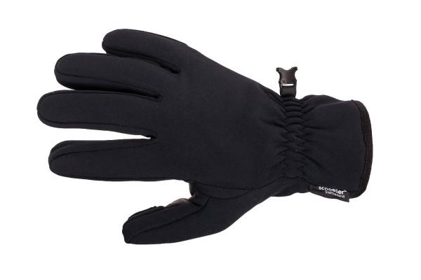 Rękawica Neo Shell marki Monkey's Grip, w całości wykonana z materiału Schoeller i wzmacniana skórą kozią w części chytnej