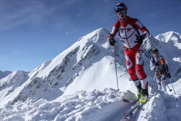 Karol Karpierz (TKN Tatra Team) i Piotr Krygowski (Polar Sport Team) na Pierra Menta (fot. Jasiek Korlatowicz)