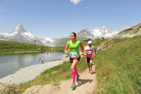 Anna Kącka podczas Mistrzostwa Świata na Długim Dystansie, Zermatt 2015 (fot. arch. Anna Kącka)