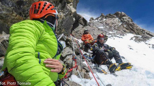 6200 m n.p.m. wyjście aklimatyzacyjne 200 m powyżej obozu I