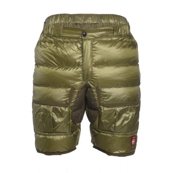 Kolekcja Pajak Sport i Lange&Lange - krótkie spodnie puchowe Phantom Cargo