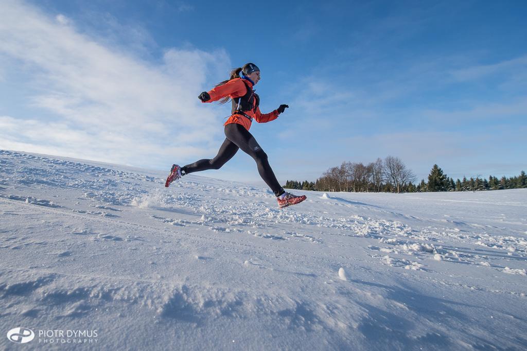 Zimowy Półmaraton Gór Stołowych (fot.  Piotr Dymus)