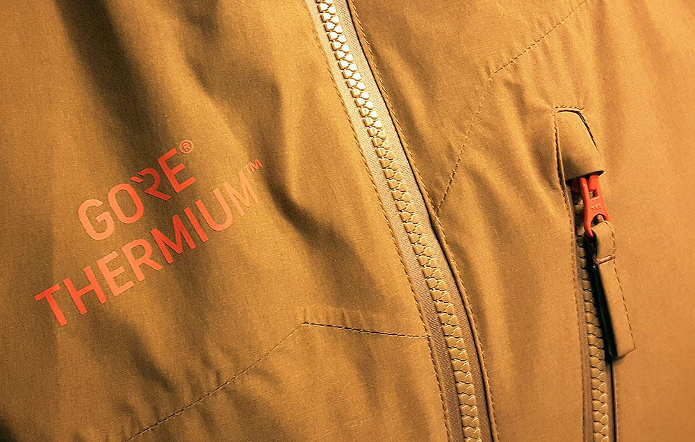 Materiał zewnętrzny Gore Thermium (fot. 4outdoor.pl)