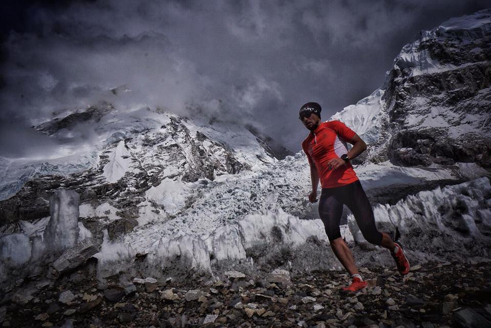 Piotr Hercog trenuje w Himalajach (fot. Kasia Biernacka)