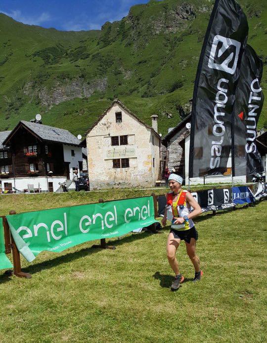 Magdalena Łączak na trasie Bettelmatt Ultra Trail (fot. profil FB