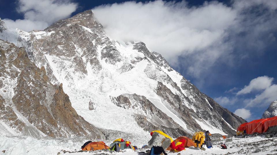 Baza Narodowej Wyprawy Zimowej na K2 (fot. Rafał Fronia)