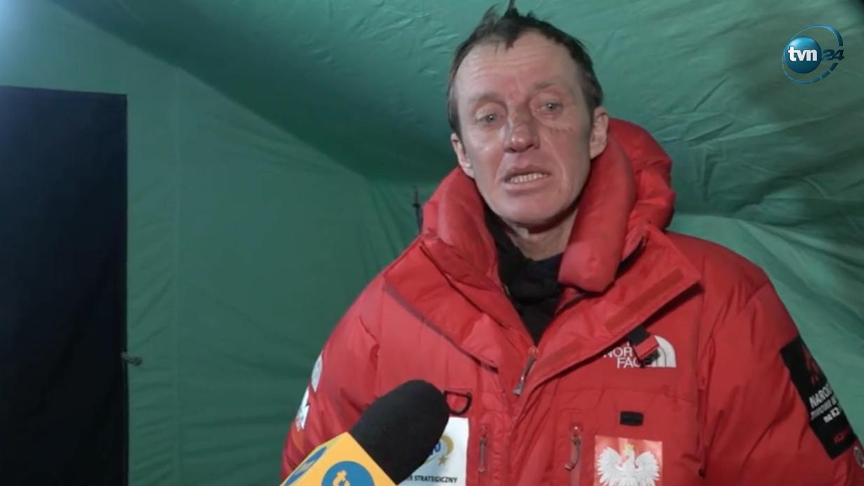 Denis Urubko po samotnej próbie ataku szczytowego na K2