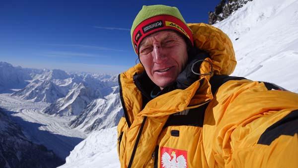 Denis Urubko podczas wspinaczki na K2 (fot. Denis Urubko / russianclimb.com)